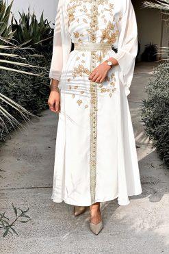 Off white Kaftan Dress