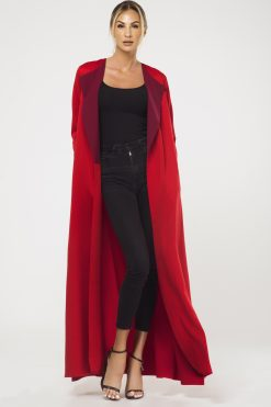 RED Two toned Cape
