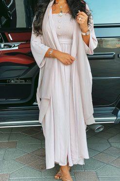 3 Pieces Abaya Outfit