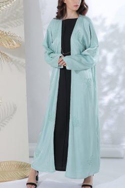Pastel Green Classic Abaya