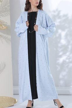 Sky Blue Classic Abaya