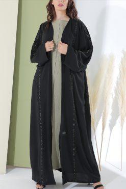 Abaya Black Crepe
