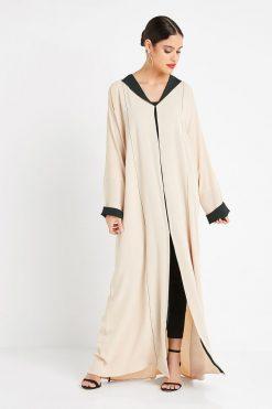 Fawn Collar Style Abaya