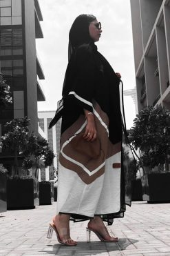 Tricolor Casual Abaya
