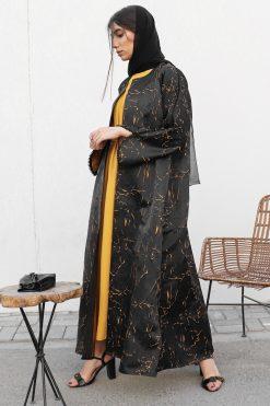 Two Pieces Abaya Set