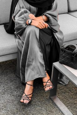 Shimmer Abaya Set