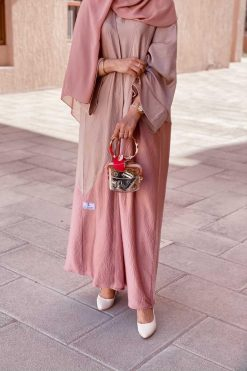 Full Set Silk Abaya