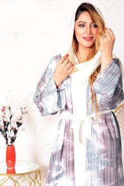 Bisht Style Abaya With Inner