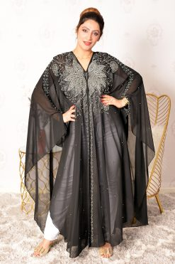 Pearls And Beads Occasional Abaya