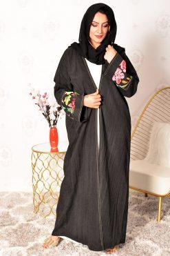 Velvet Bisht Style Abaya