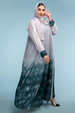 3 Pieces Abaya Set