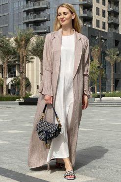 Linen Full Set Abaya