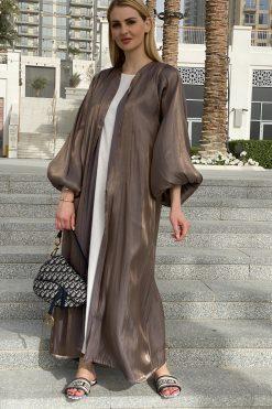 Brown Abaya Set