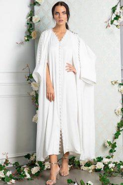 Silk Abaya Kimono