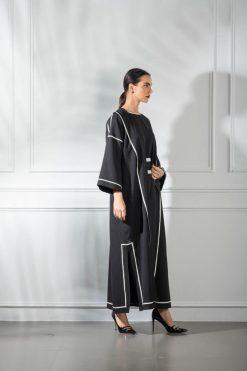 Overcoat Style Abaya