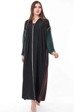 Tri Color Abaya
