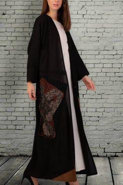 Fancy Black Abaya Dubai