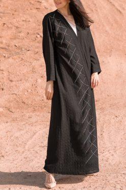 Black Kimono Outfit