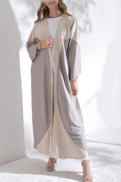 Neutral Abaya