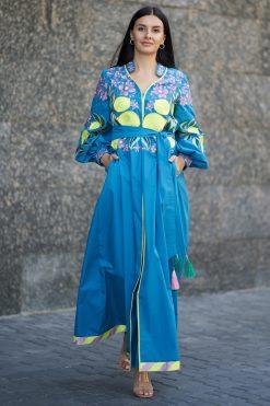 Turquoise Kaftan
