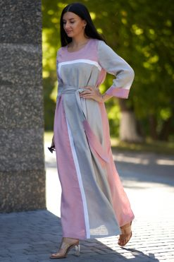 Casual Maxi Kaftan Dress