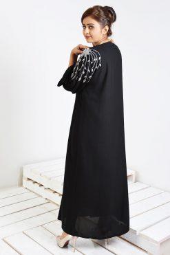 Crystals Embellished Abaya