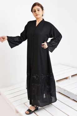 Georgette Beaded Abaya