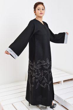 Embroidery Abaya Dress