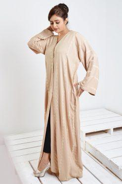 Golden Embroidered Abaya