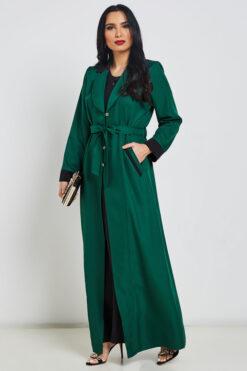 Emerald Green Turkish Abaya