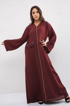 Zipper Abaya
