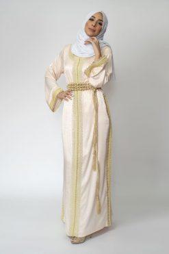 Arabian Kaftan Dress