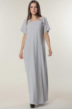 Grey Under Abaya Dress