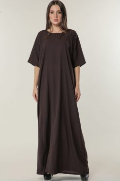 Brown Inner Slip Dress