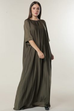 Green  Under Abaya Dress