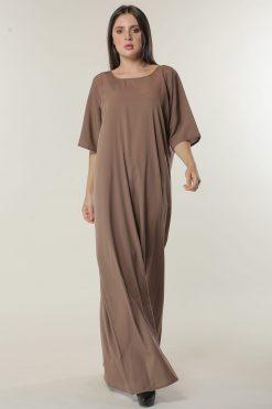 Light Brown Under Abaya Dress