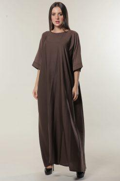 Brown Under Abaya Dress