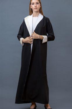 Coat Collar Abaya