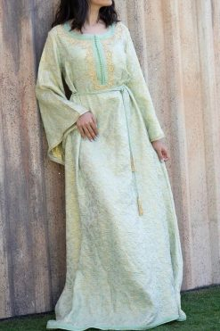Kaftan Henna Dress