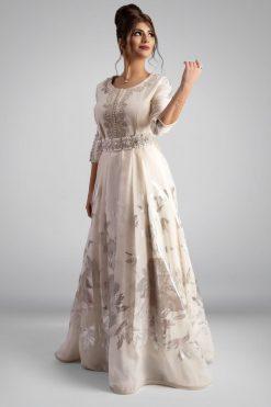 Bridal kaftan White