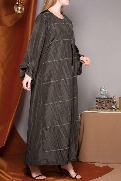 Folded Sleeves Abaya