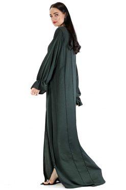 Green Abaya Dress