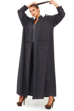 Grey Abaya Fashion