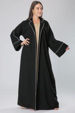 Black Coat Style Abaya