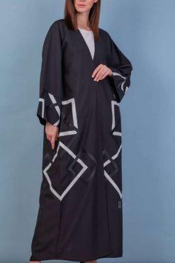 Open Bisht Abaya