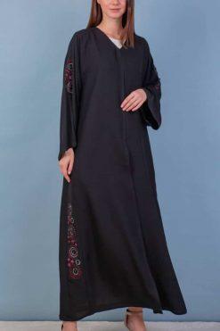 Abaya Embroidery Design