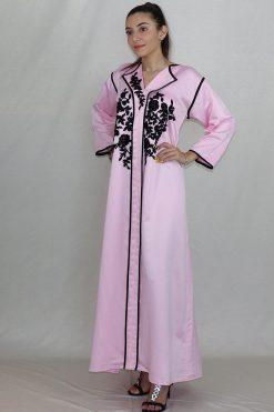 Ladies kaftans - Pink N' Black