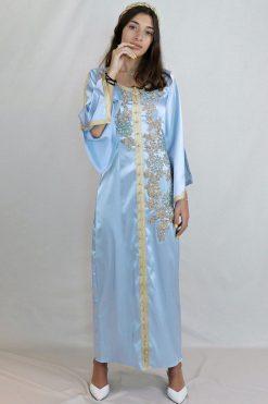 moroccan kaftan designer - Gold Maghrabi