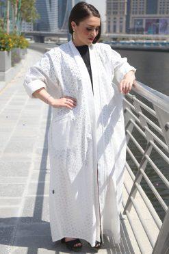 White Abaya Style