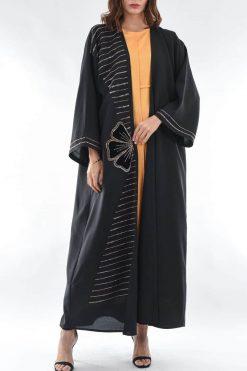Bisht Abaya Black